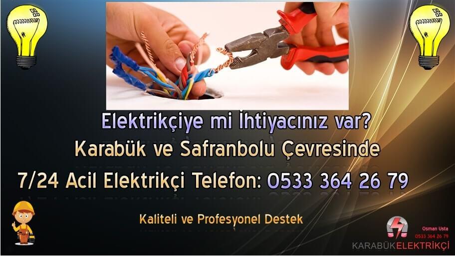 Safranbolu Elektrik 0 533 364 26 79