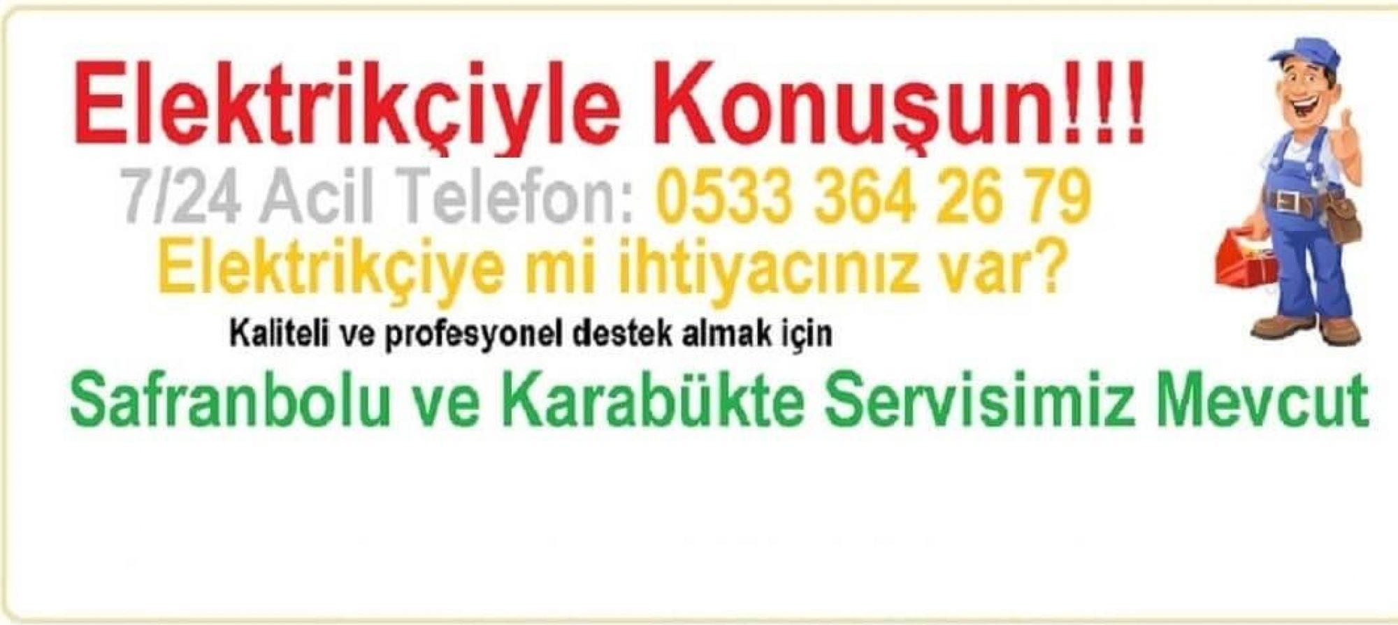 Safranbolu Elektrikçi Şofben Takma